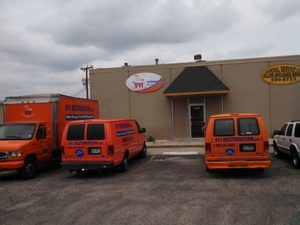 water-damage-restoration-plano-fleet-at-branch-headquarters