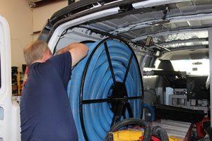 Prepping Equipment For A Sewage Restoration Job